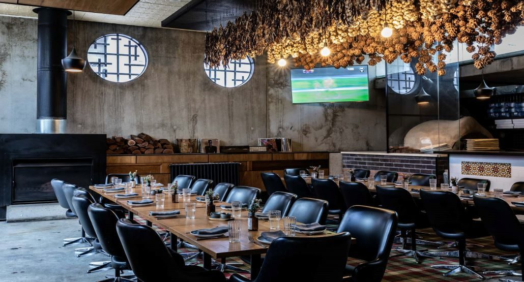 Chefs dining room function space a Newmarket St Kilda